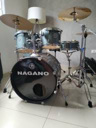 Bateria acústica - Nagano / Tagima + JG pratos