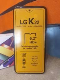 LG K 22 NOVO NA CAIXA