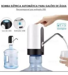Bomba Agua Automatica P/ Galões - Recarregavel - Pronta Entrega!!!