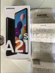 Celular A21s novinho