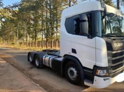 Título do anúncio: Scania R-450 6x2 Com Retader 2019 Automático
