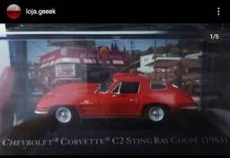 Miniatura American cars Chevrolet Corvette Z06 Sting Ray 1963