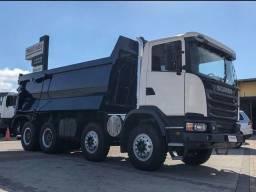 Scania G440 2018 engatado na caçamba