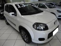Fiat Uno sporting 1.4 branco 8v flex 4p manual 2013