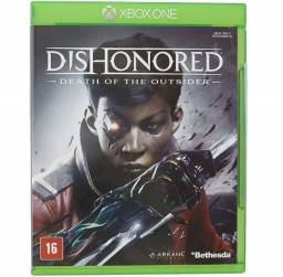 Game Dishonored: Death of The Outsider - Xbox One Original Novo
