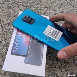 Xiaomi Note9s azul 128gb 6gb ram Novo  Cometa Celular Anápolis