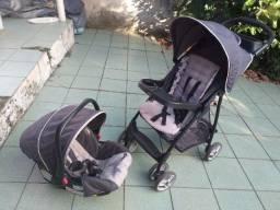 Título do anúncio: Carrinho, bebê conforto e base isofix - Graco (importado)