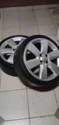 Troco rodas 17 por rodas 15