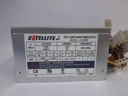 Fonte Nominal Satelite Model: Lc--b500e 20p 250w Sata