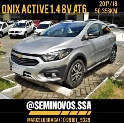 Onix active 1.4 8v at6 2017/18 - Marcelo Braga