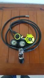 Regulador de pressão para mergulho