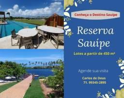 Oportunidade: Reserva Sauípe , lotes a partir de 450 m², Infraestrutura - Destino Sauípe