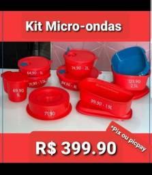 Kit Tupperware Micro-ondas