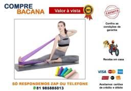 Kit 3 Faixas Elásticas Thera Band Fisioterapia/Yoga