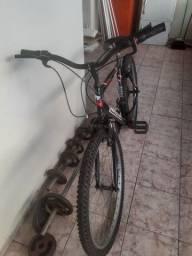 Bicleta com marchas.