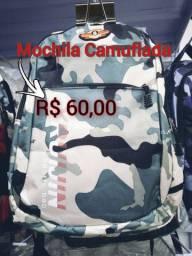 Mochila Camuflada ...