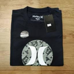 Camisas linha Premium malha 30.1 penteada.