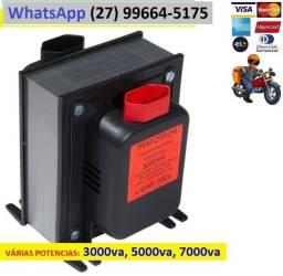 Transformador 500va, 2000w, 3000va, 5000va, 7000va e 10000va, Promoção