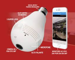 Título do anúncio: Super Câmera Lâmpada 3D Inteligente 360º Top