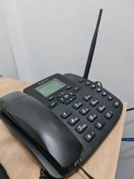 Telefone celular rural de mesa elsys quadriband gsm dual chip epfs12 (usado).
