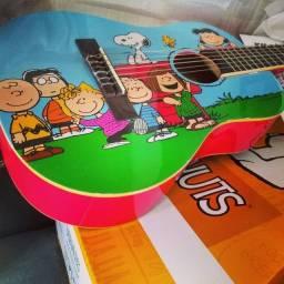 Violão Snoopy infantil 1/4  lindo!