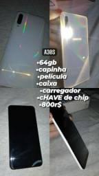 A30s 64gb 800R$ bom estado