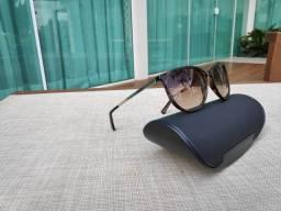 Oculos de sol armani exchange redondo marrom degrade