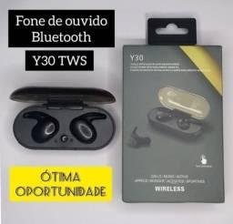 Fone de ouvido sem fio Y30 Bluetooth 5.0