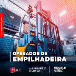 Operador de Empilhadeira para Maniseio da Máquina