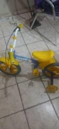 Título do anúncio:  Bicicleta pra criança bicicleta shark