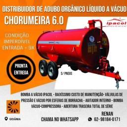Chorumeira Distribuidora de Adubo Orgânico e liquido 6000L Ipacol