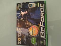 Placa de vídeo ndivia GeForce 6200 zotac 512MB DDR