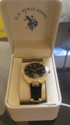 Relógio US Polo Assn. feminino (novo / original)