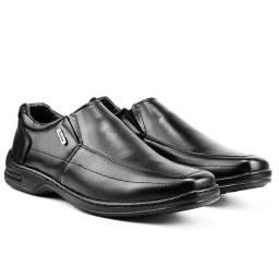 Sapato Social Masculino Preto Liso (compra garantida OLX Pay)
