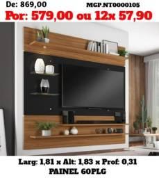Promoção em Maringa 30% - Painel de televisão Grande até 60 Plg - Embalado