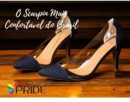 Revendedora Pride calçados.