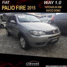 Fiat Palio Way 1.0 Fire 2015 Completo