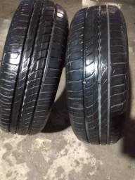 2 pneus aro 14 pirelli  175-65 novos