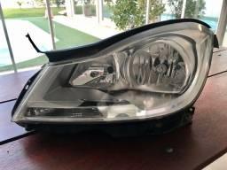 Farol Original Dianteiro Esquerdo Mercedes Benz C180 2012
