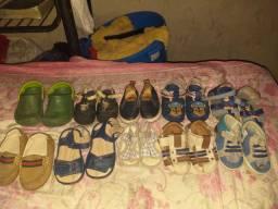 Sapatilho e sandália