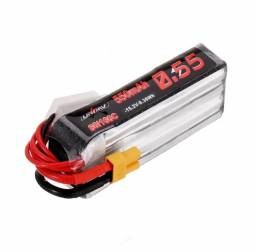 Bateria Lipo Xt30 Uruav 15.2v 550mah 80c/160c 4s P/ Drone Rc