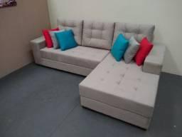 Promoção sofá com cheise