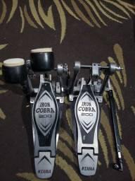 Pedal duplo iron cobra 200 perfeito estado
