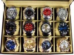 Kit 10 Relógios Masculinos