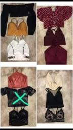 Lote de roupas / bazar