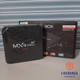 TV BOX Mxq Pro 64/4GB - Transforme sua Tv em Smart