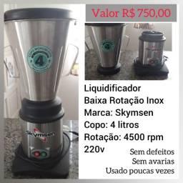 Liquidificador inox 4litros Skymsen