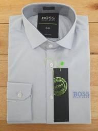 Camisa Social Hugo Boss tamanhos M e G