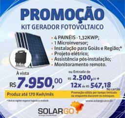Título do anúncio: Kit energia solar