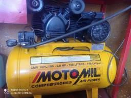 Compressor motomil 100 litros